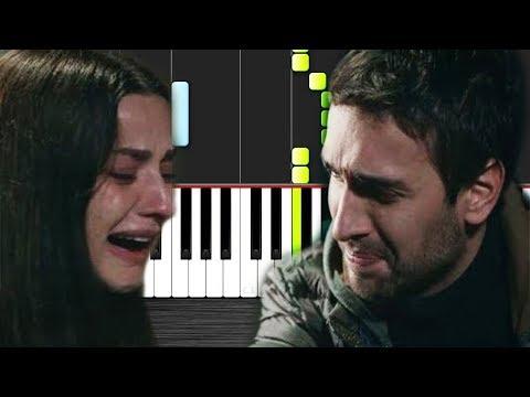 Öykü Gürman - Kül Oldum - Piano Tutorial by VN