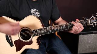 """How to Play """"Chandelier"""" by Sia on Guitar - Super Easy Songs For Guitar Axis of 4 Awesome Chords"""