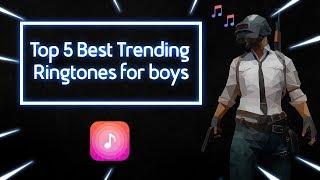 Top 5  Best Trending Ringtones For Boys #3| 2019 🔥  With Download Links  Ft.pubg