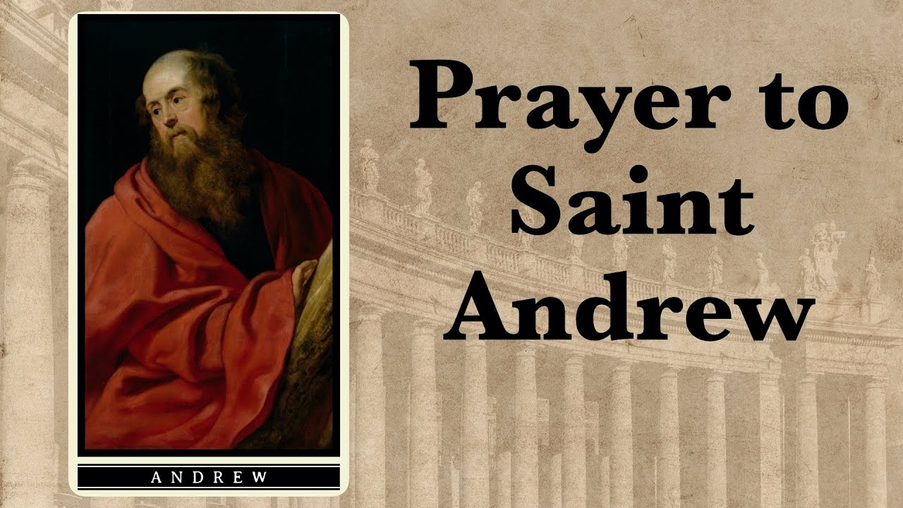 Prayer to St. Andrew