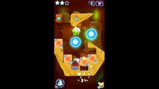 Cut the Rope: Magic. Level 5-13. Ancient Library.