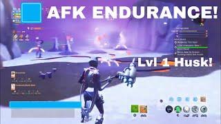 AFK Endurance Glitch *lvl 1 husk* Fortnite Save The World