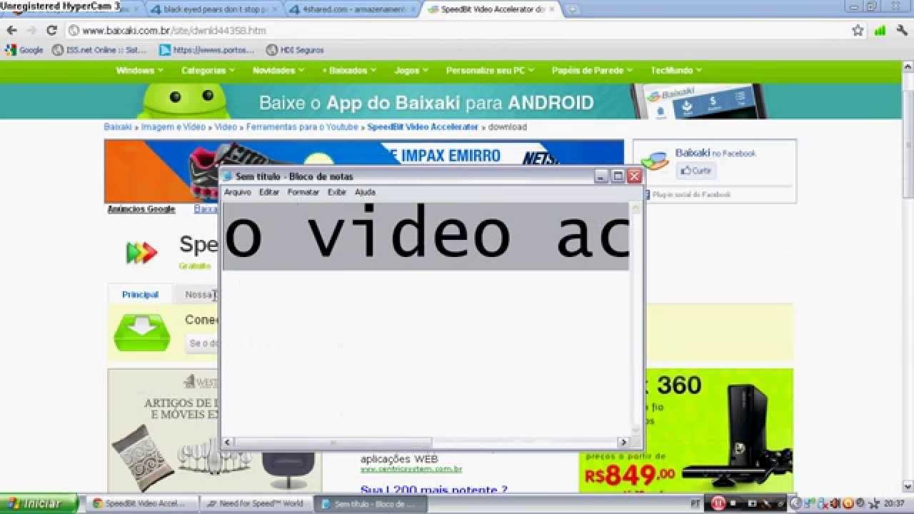 acelerador de video do youtube baixaki