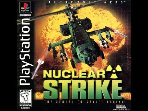 Nuclear Strike. PS1. Walkthrough