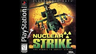 Nuclear Strike. PS1. Walkthrough