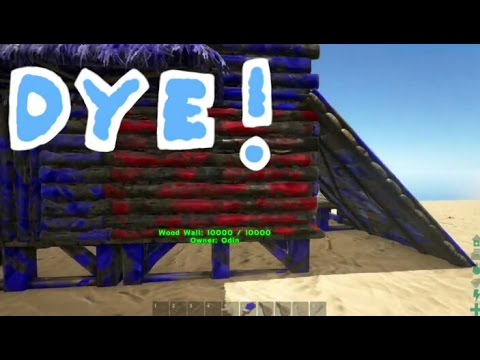 how to get dye in ark survival evolved