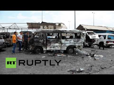 Syria: Clear-up operation begins after deadly bomb attacks in coastal towns