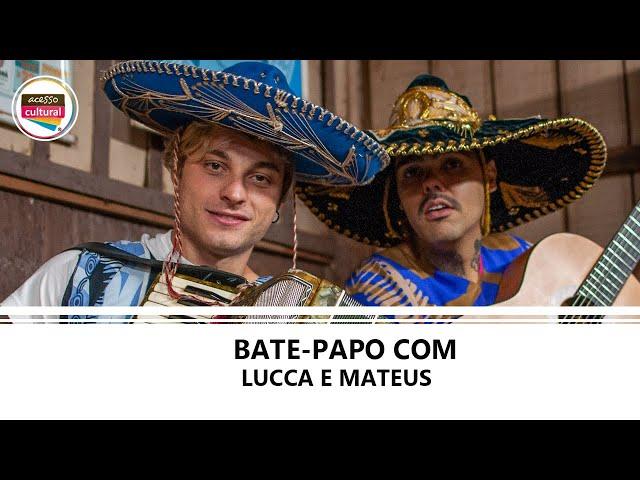 BATE-PAPO COM LUCCA E MATEUS