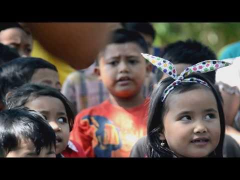 INDONESIA RAYA ALA ANAK KAMPOENG BATARA BANYUWANGI