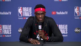 Pascal Siakam Full Interview - Game 1 Preview | 2019 NBA Finals Media Availability