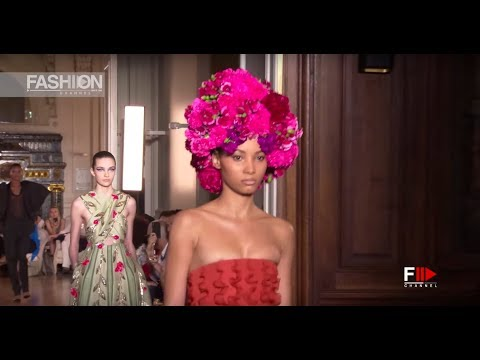 VALENTINO Fall 2018 Haute Couture Paris – Fashion Channel