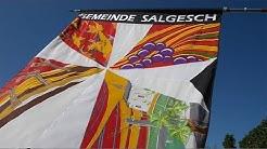 Salgesch erhält eine neue Gemeindefahne