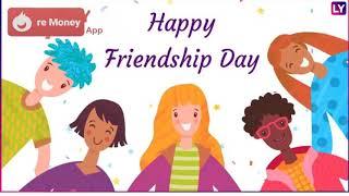 Happy friendship day nice combination