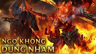 Ngộ Không Dung Nham - Volcanic Wukong - Skins lol