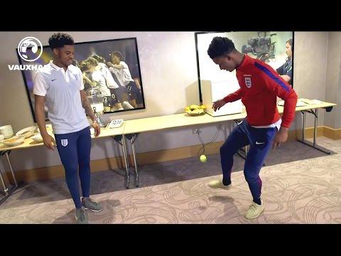 Keepy Uppy - Chuba Akpom vs Demarai Gray | FATV Challenge