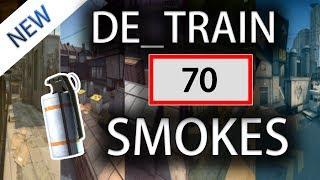 CS:GO - Train ALL SMOKES Tutorial (70+ Smokes) [2019]
