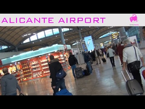 Alicante Airport Video Guide
