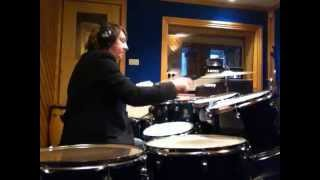 """Drum fill from phil collins hit """"in the air tonight."""