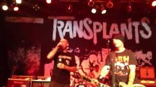 Transplants - DJ DJ (Live SLC 7/19/13) HD