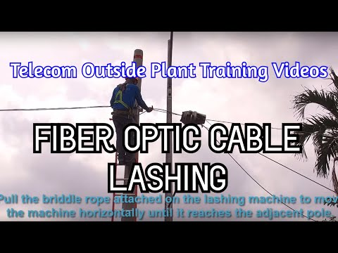 Fiber Optic Cable Lashing