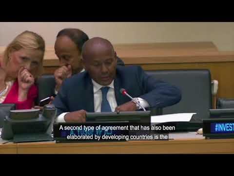 IDLO side event on investment for LDCs: Speaker Abdulqawi Ahmed Yusuf