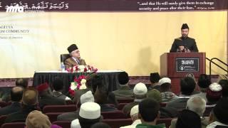 Mirza Bashir Ahmad   Missionary Salman Sheikh   Jalsa Salana West Coast USA 2014