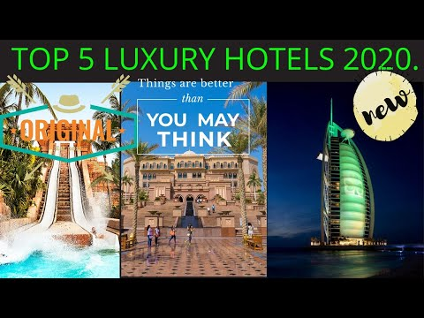 Top Six Luxury Hotels In The World  Amazing World Hw