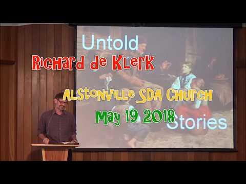 Richard de Klerk  Untold Stories