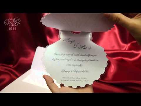 Invitatii nunta - AR Cards ©  5355 Invitatie tematica marina scoici scoica.mp4