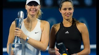 Sharapova VS Ivanovic Highlight 2015 F