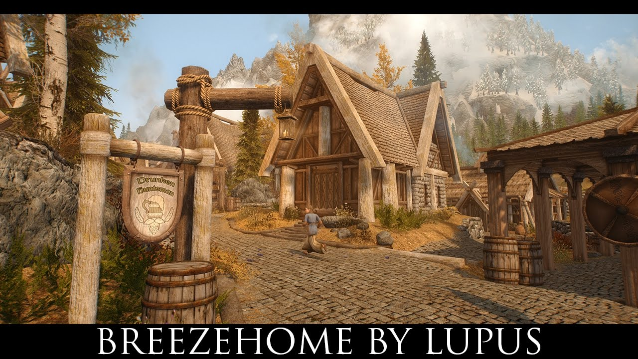 Skyrim SE Mods Breezehome by Lupus  YouTube