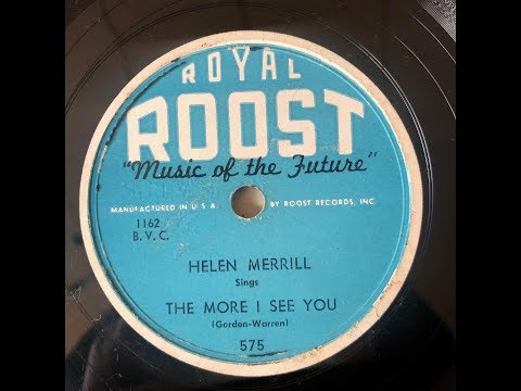 Helen Merrill  / The More I See You Mp3