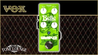 Wampler BELLE with VOX AC15c1- Vox Friendly Pedal