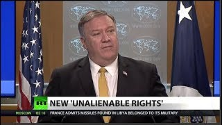 Pompeo, US to decide what is a human right