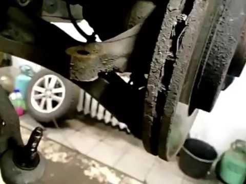 Renault Megane/Рено Меган как снять рулевую рейку/removing the rack.
