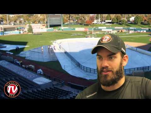 Hunter Smith, Derek Grant and Kenney Morrison Talk Outdoor Hockey Games