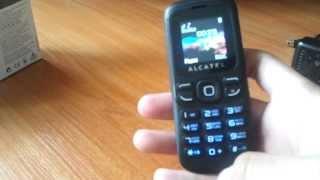 Один из дешевых телефонов. ALCATEL One touch 232(Купил телефон. Сенсорный не много надоел и решил пока на кнопочный перейти. Телефон понравился!, 2013-05-27T10:06:46.000Z)