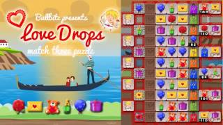 Love Drops - Match three puzzle : by Bullbitz