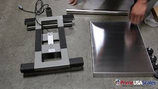 Prime USA Scales PS-SA-B Scales Bench Scale Set Up ** Extremely Easy Set Up **