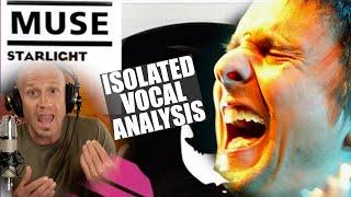 Matt Bellamy - Muse - Starlight Isolated Vocal Analysis - Singing & Production Tips