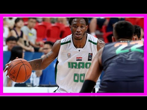 Daily News - Demario mayfield is basketball star of the new iraq. and he is American.