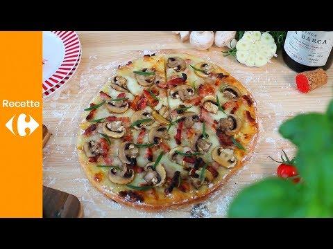 une-recette-toute-simple-de-pizza-champignons-et-mozzarella