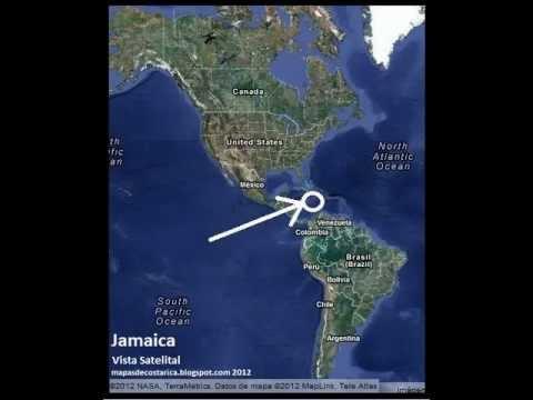 jamaica mapa mundi 45 mapas de Jamaica .wmv   YouTube jamaica mapa mundi