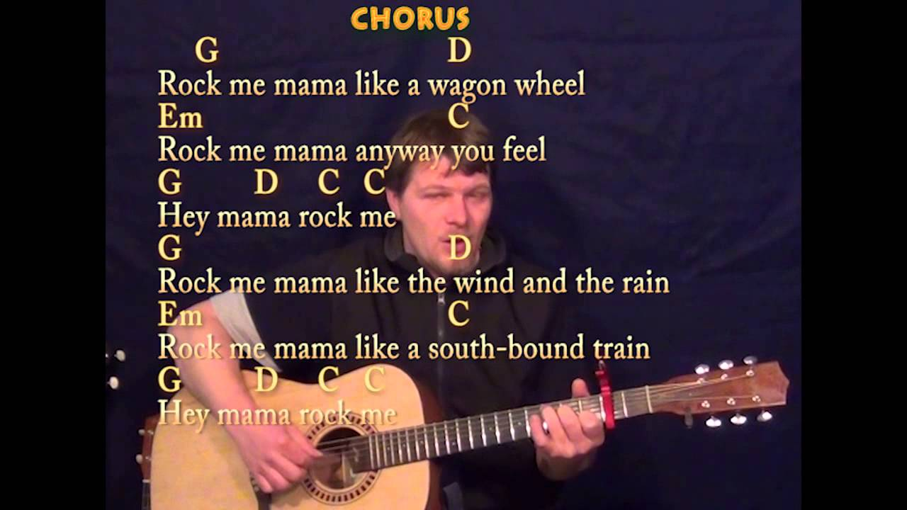wagon wheel old crow medicine show fingerstyle guitar cover lesson with lyrics capo 2nd. Black Bedroom Furniture Sets. Home Design Ideas