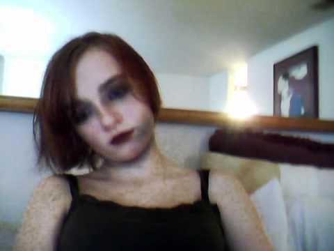 halloween zombie rockstar!!