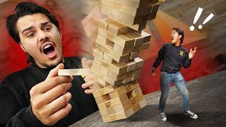 Jenga COLLAPSE Challenge! thumbnail