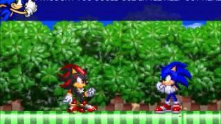 Super Sonic And Super Shadow Vs Mephiles Dark