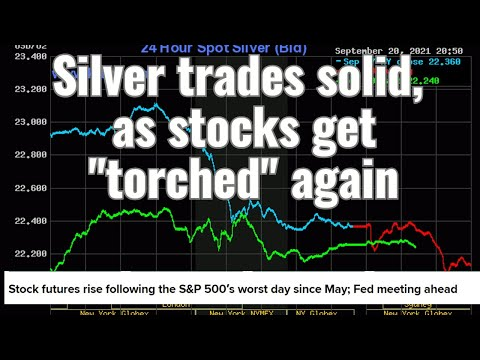 Silver trades solid, as stocks get