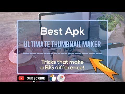 Ultimate thumbnails maker app for free