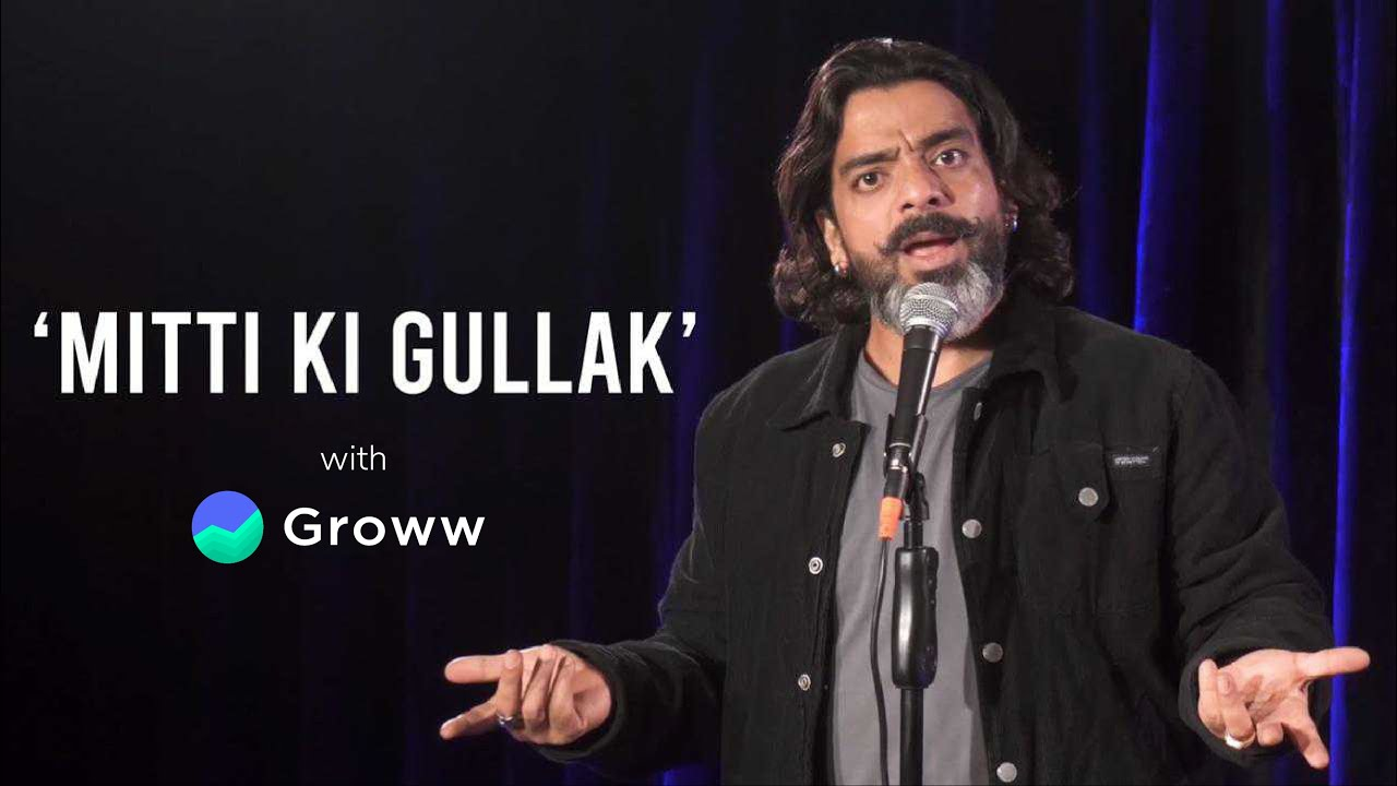 Mitti ki Gullak - Groww | Stand Up-Comedy by Jeeveshu Ahluwalia